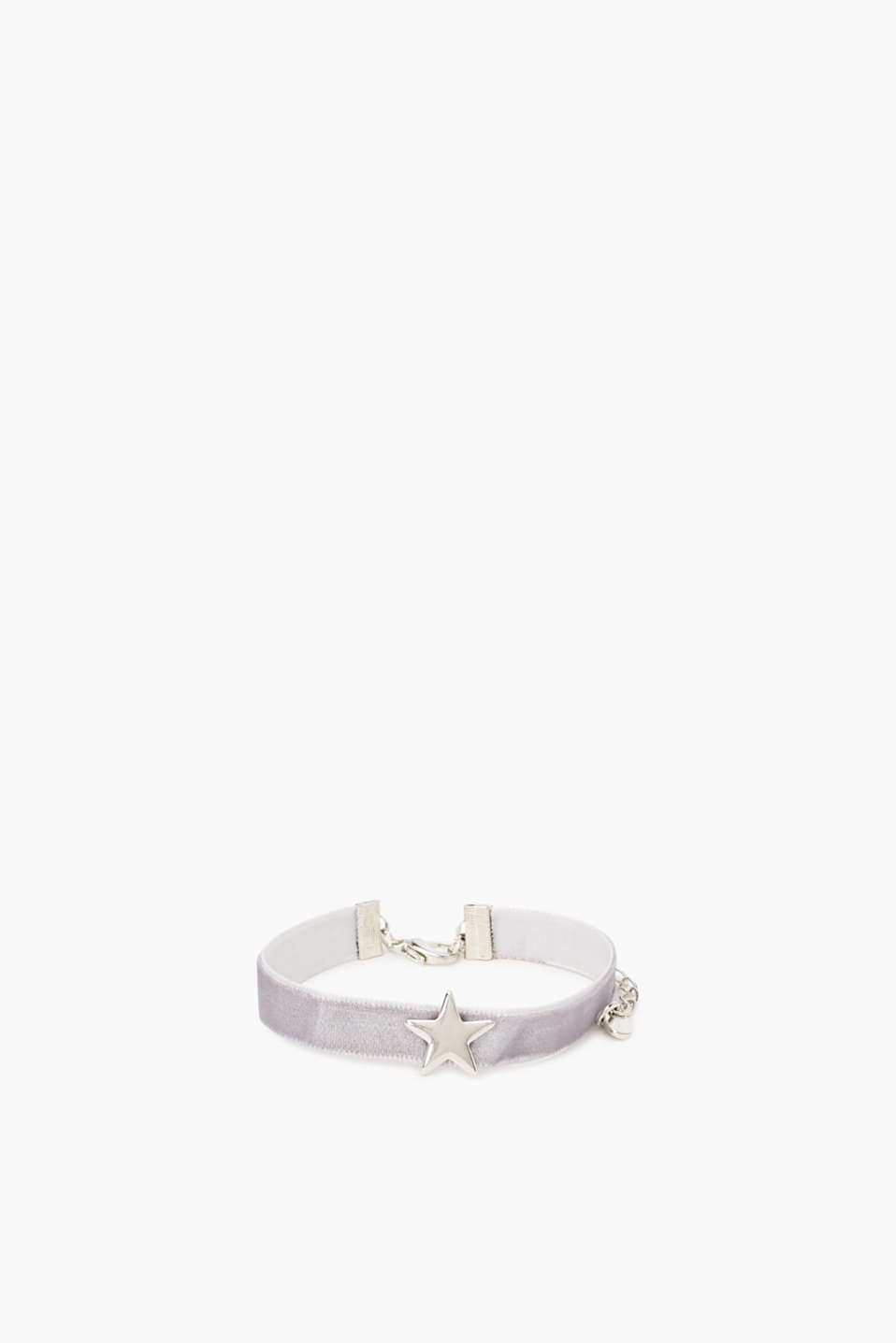 Esprit - Velvety bracelet with a star