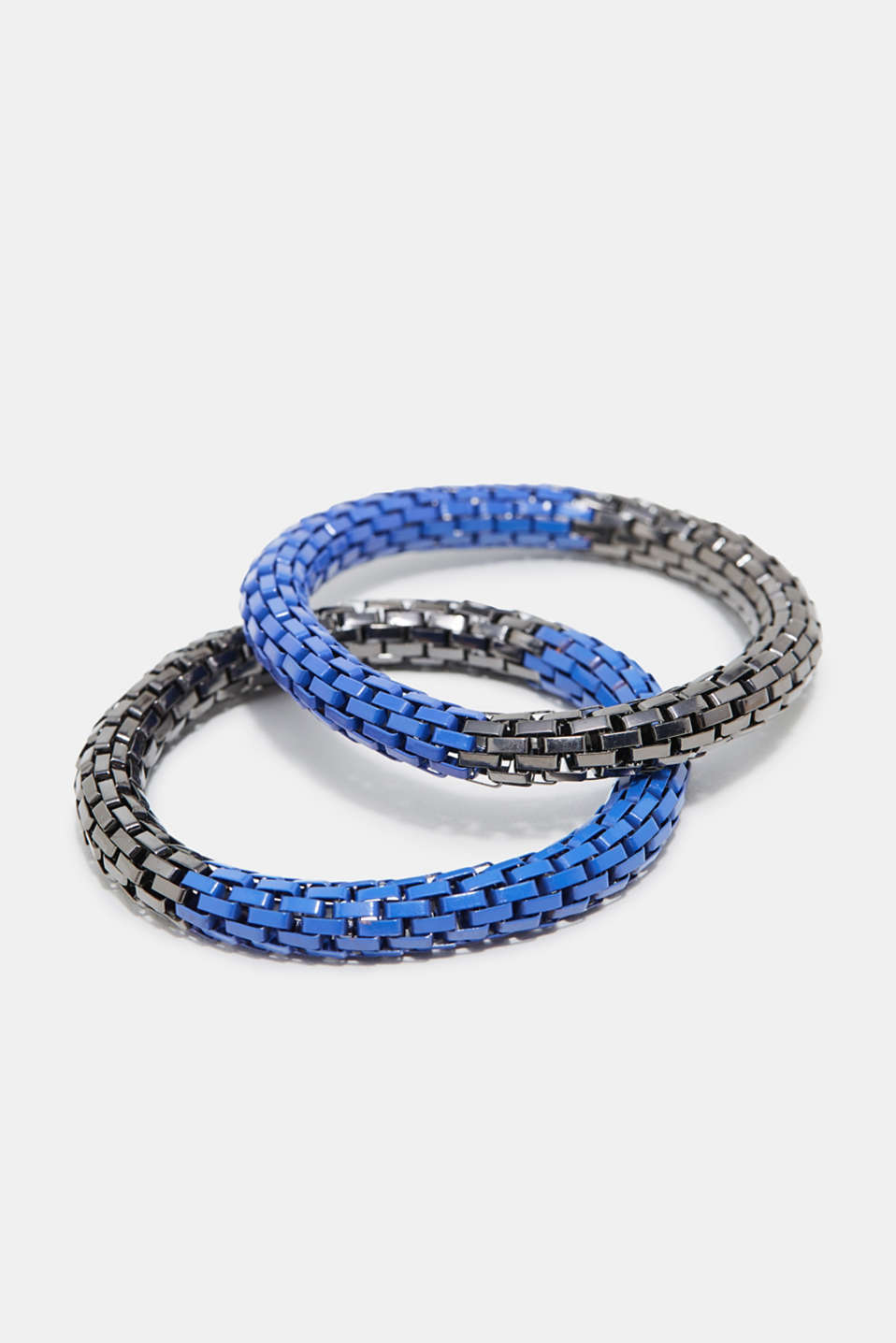 Esprit - Set of two-tone metal bracelets