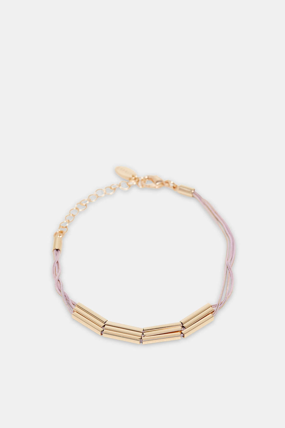 Esprit - 3-strand bracelet with metal elements