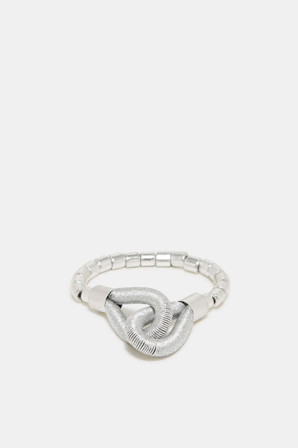 Esprit - Stretchy bracelet in a metallic look