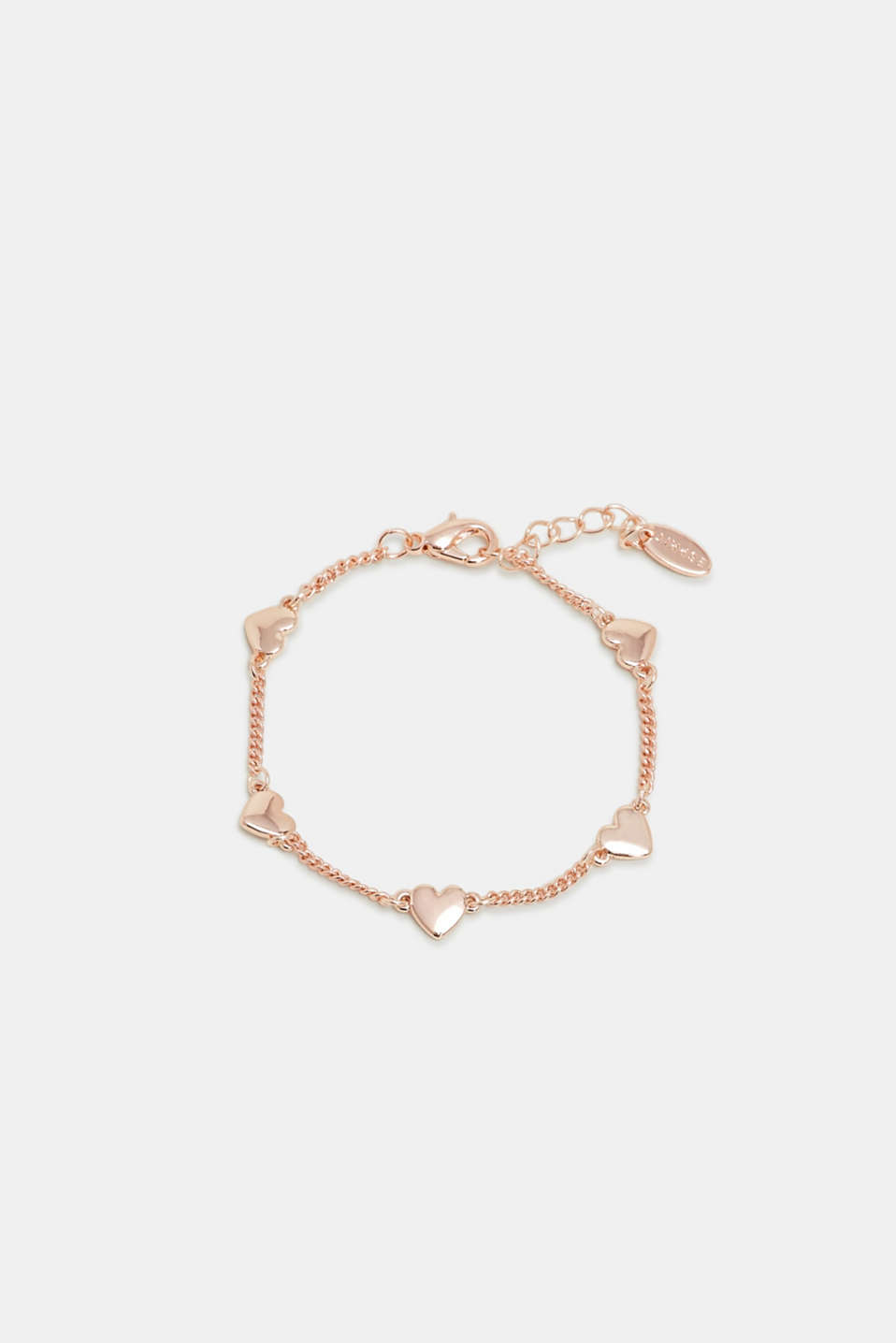 Esprit - Bracelet with heart pendants