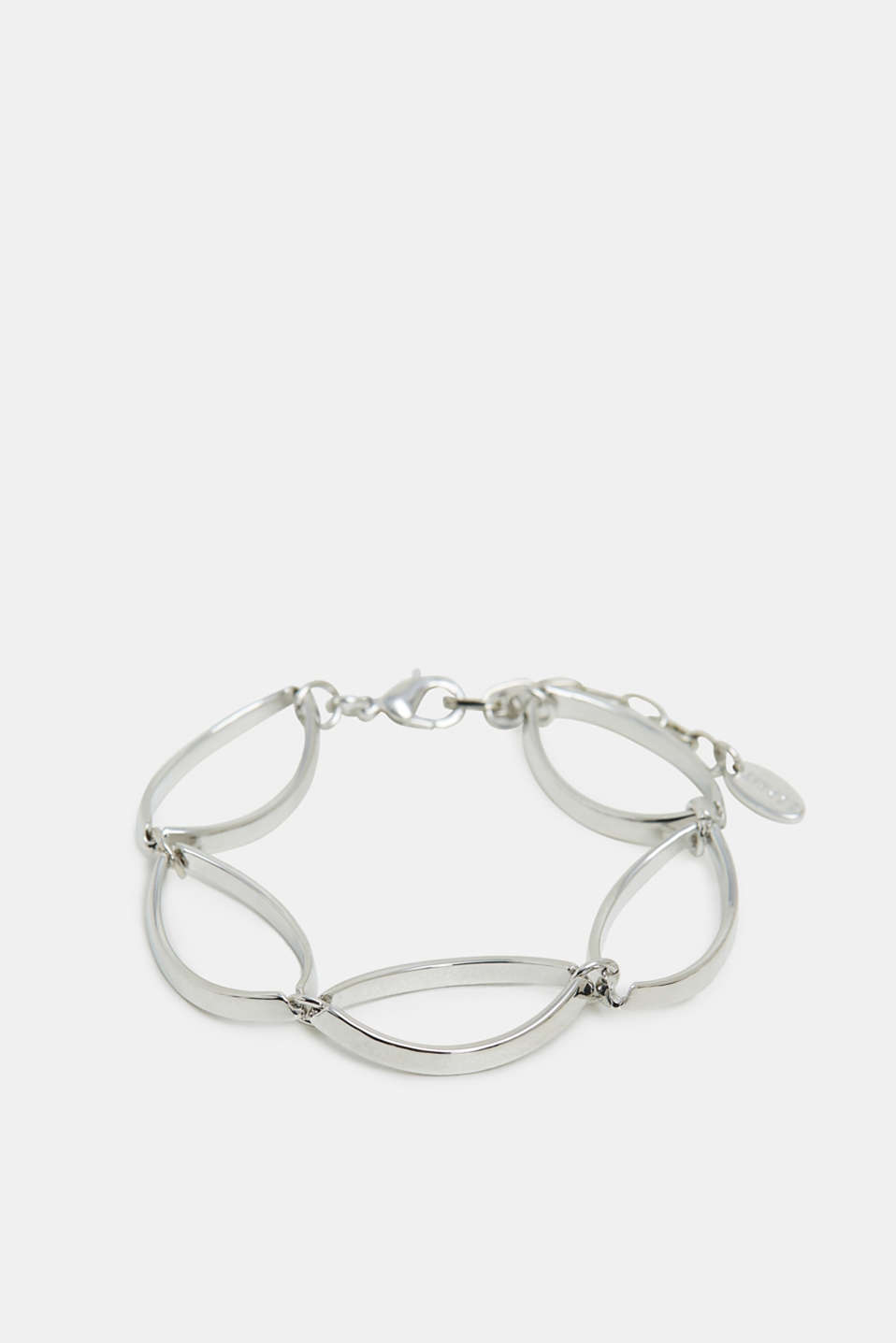 Esprit - Metalen ketting-armband met charmante retrolook
