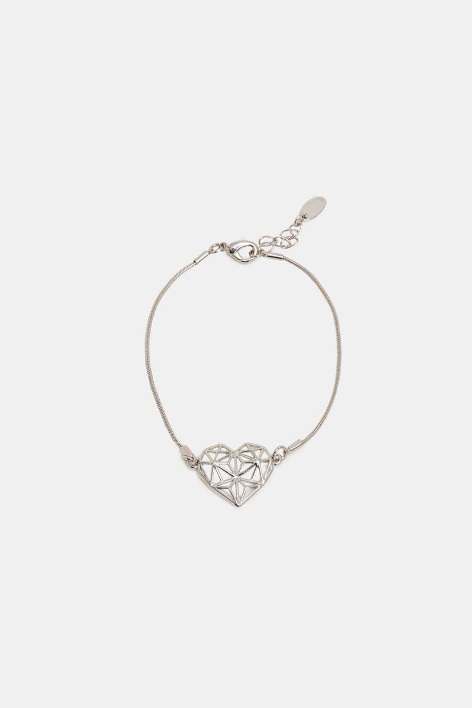 Esprit - Bracelet with a heart pendant