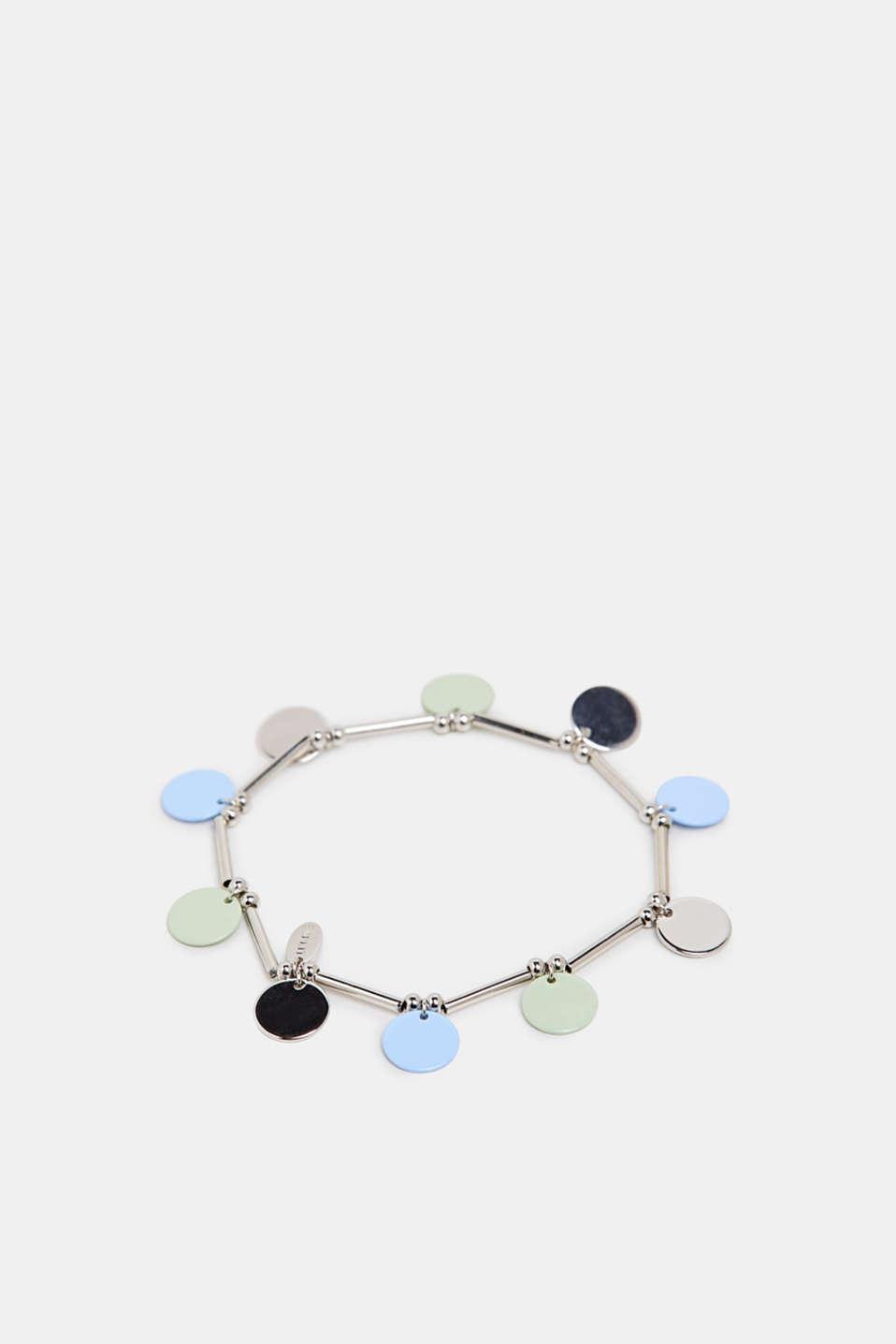 Bracelet with pendants, SILVER, detail image number 1