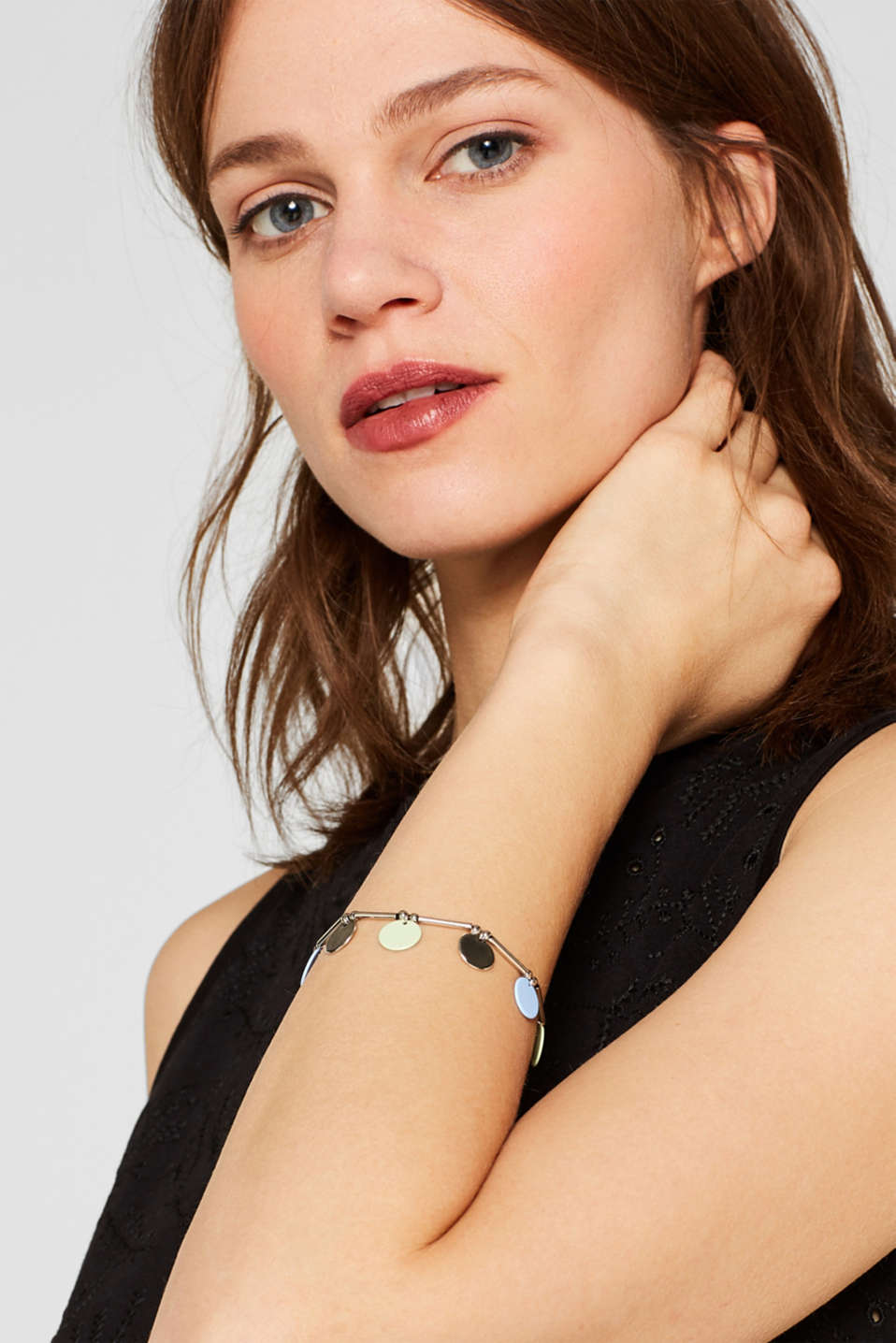 Bracelet with pendants, SILVER, detail image number 2