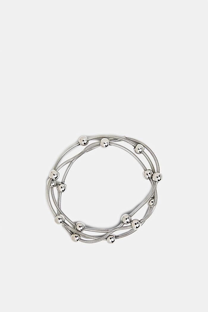 Metal beaded bracelet, ONE COLOR, detail image number 0