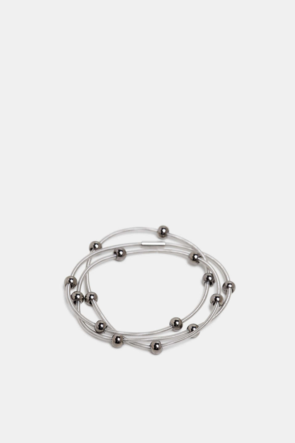 Esprit - Bracelet with metal beads