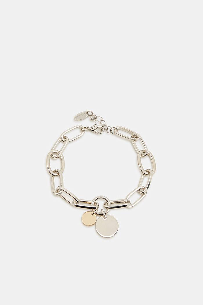 Metal bracelet, SILVER, detail image number 0