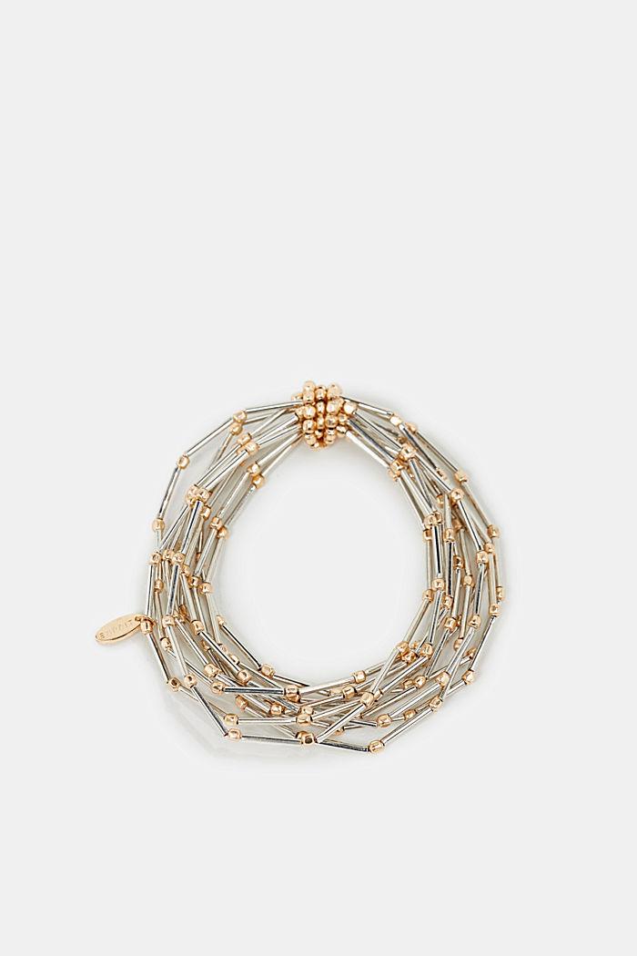 Metal bracelet, GOLD, detail image number 0