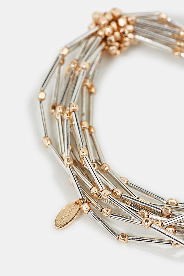 Metal bracelet, GOLD, detail image number 1