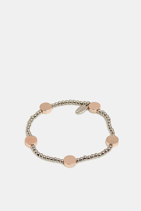 Bracelet with little metal discs