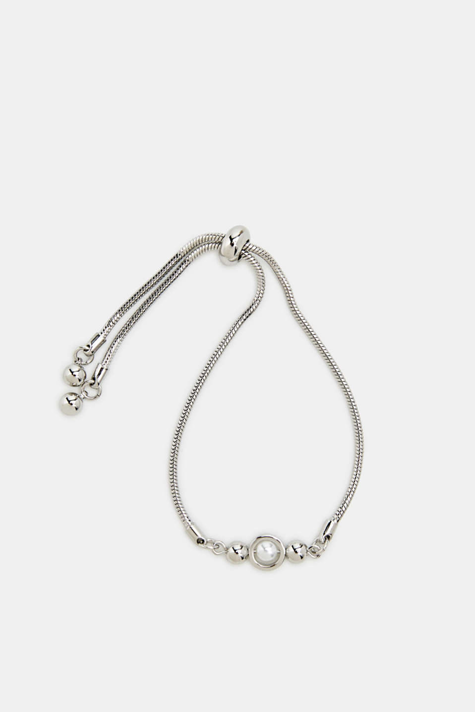Faux pearl bracelet, LC1COLOR, detail image number 0
