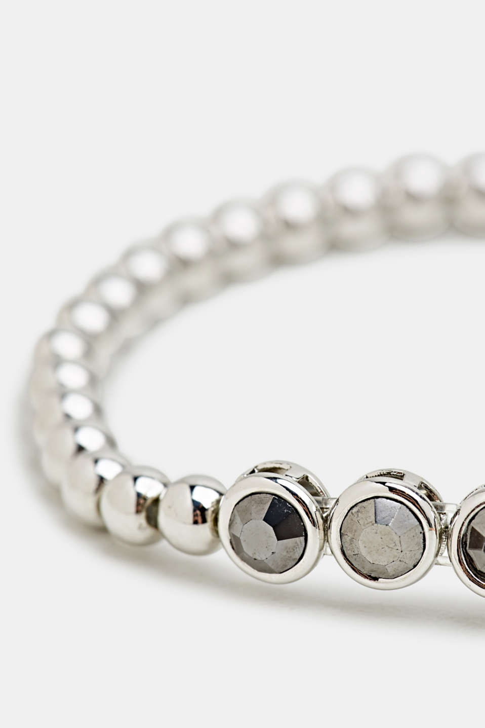 Stretchy metallic bracelet with beads, LC1COLOR, detail image number 1