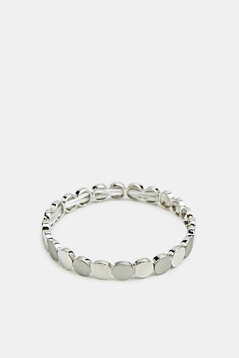 Stretchy metal bracelet