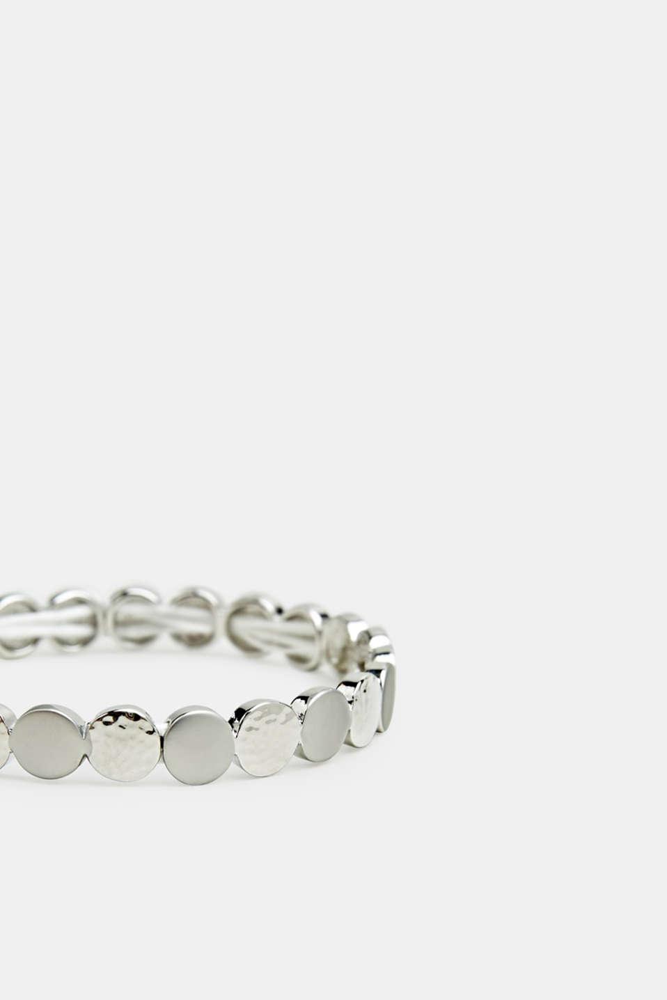 Stretchy metal bracelet, LC1COLOR, detail image number 1