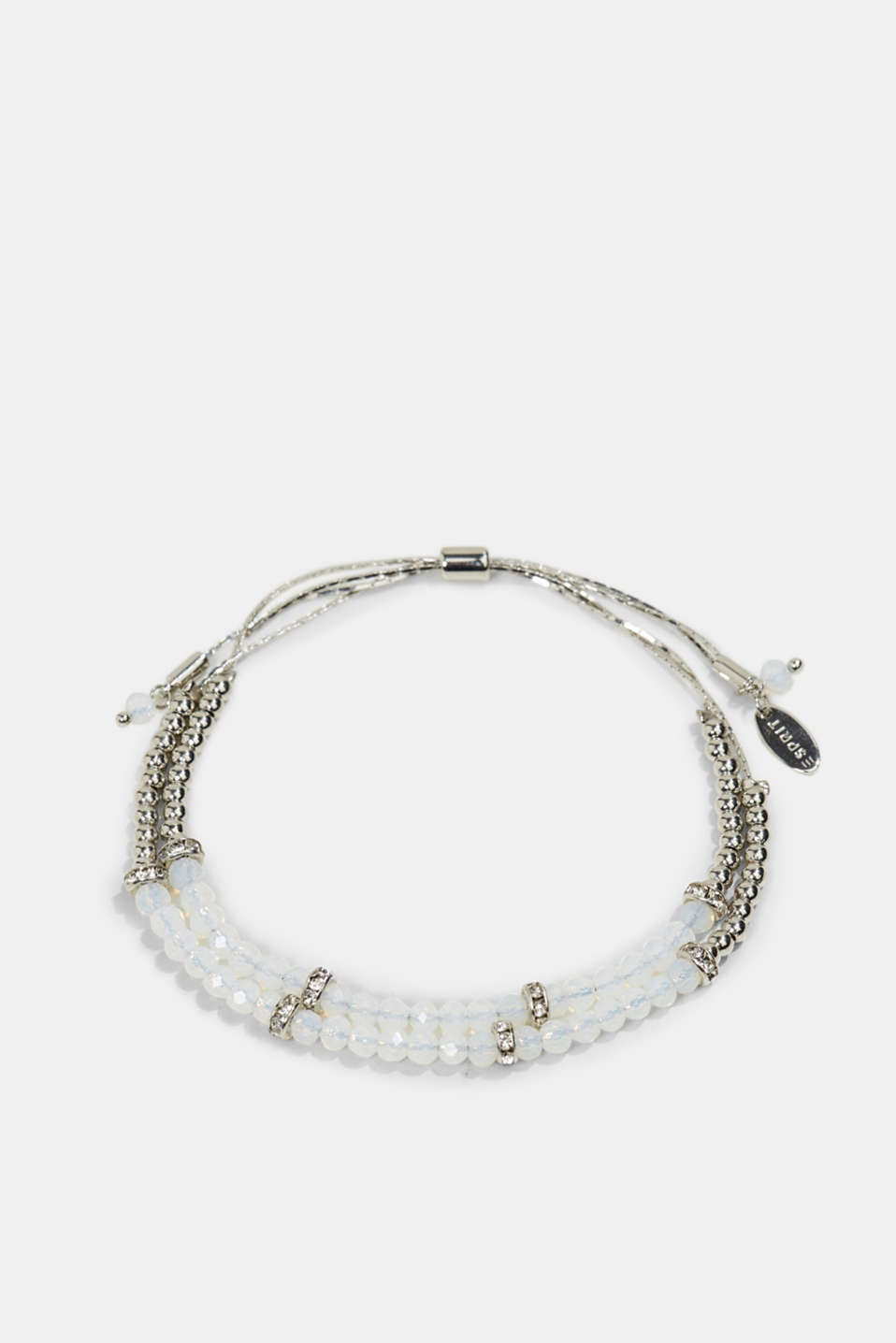 Esprit - Two-strand bracelet with glass beads