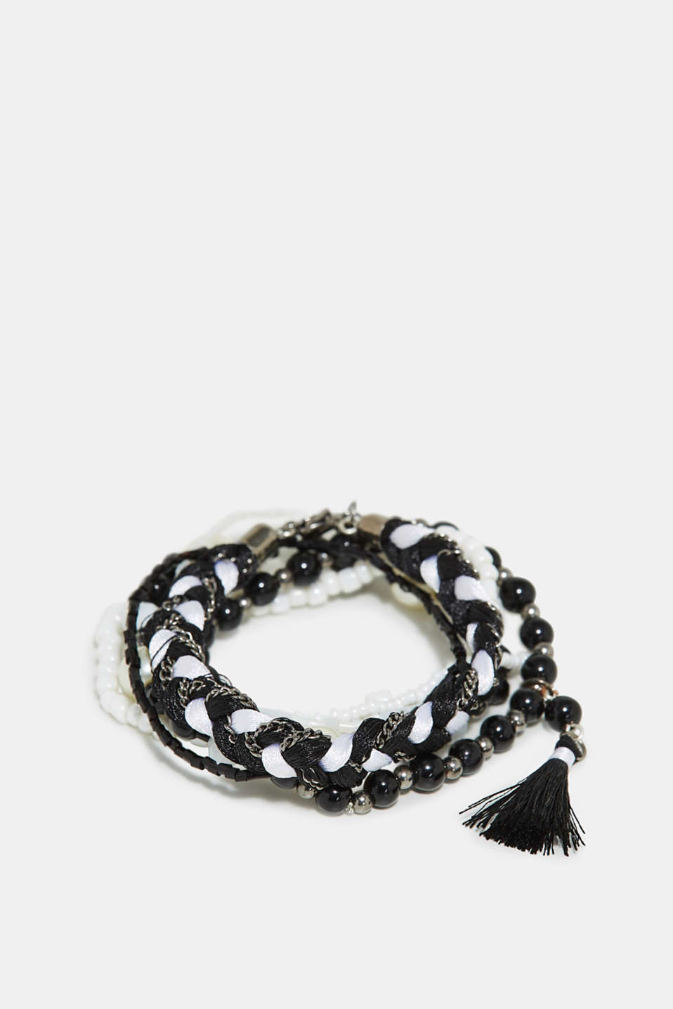 Esprit - Set of bead bracelets with tassel
