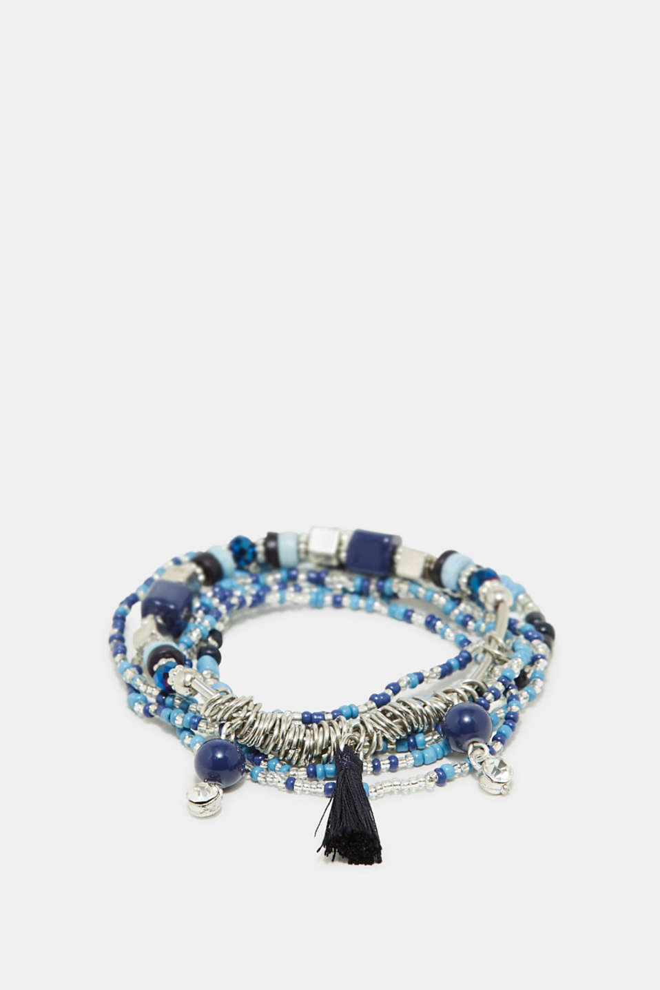 Esprit - Set of bracelets with blue beads