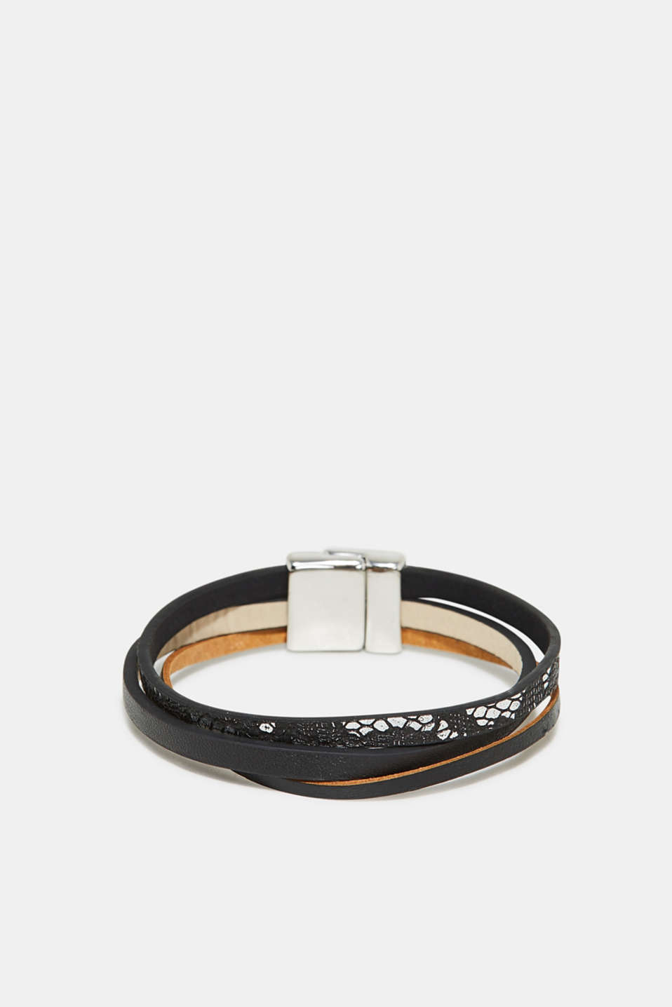 Esprit - Faux leather bracelet