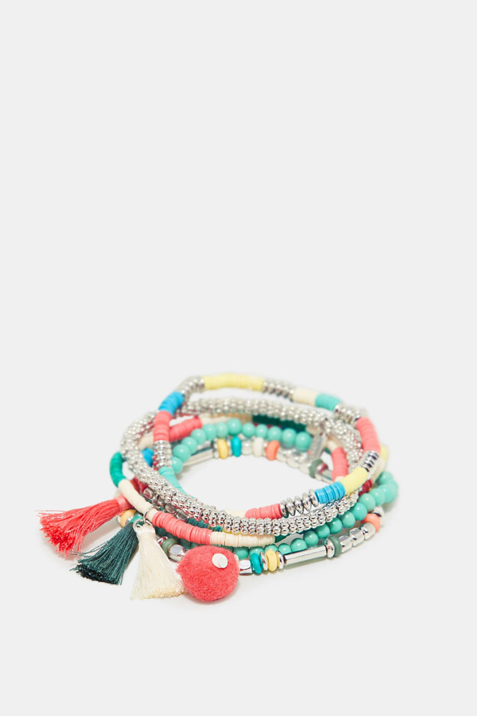 Esprit - Set of colourful bracelets