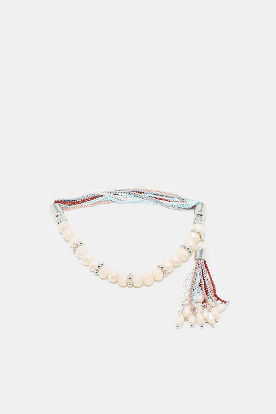 Esprit - Bracelet with beads and tassels