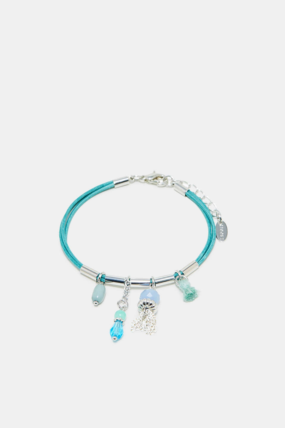 Esprit - Three-strand bracelet with charms