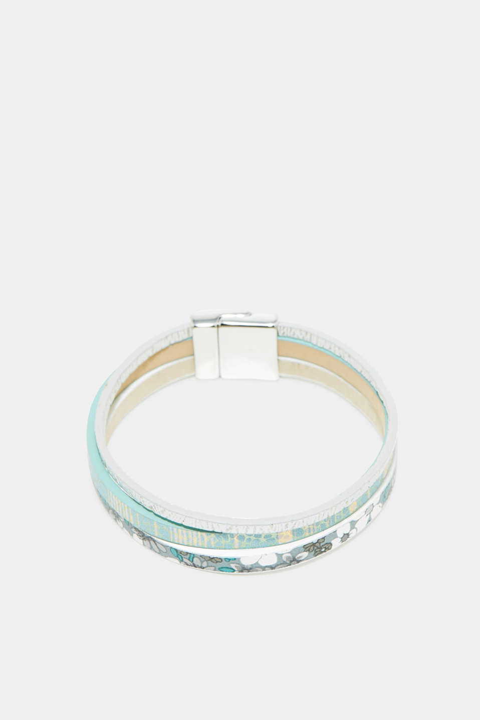 Esprit - 3-strand bracelet in faux leather