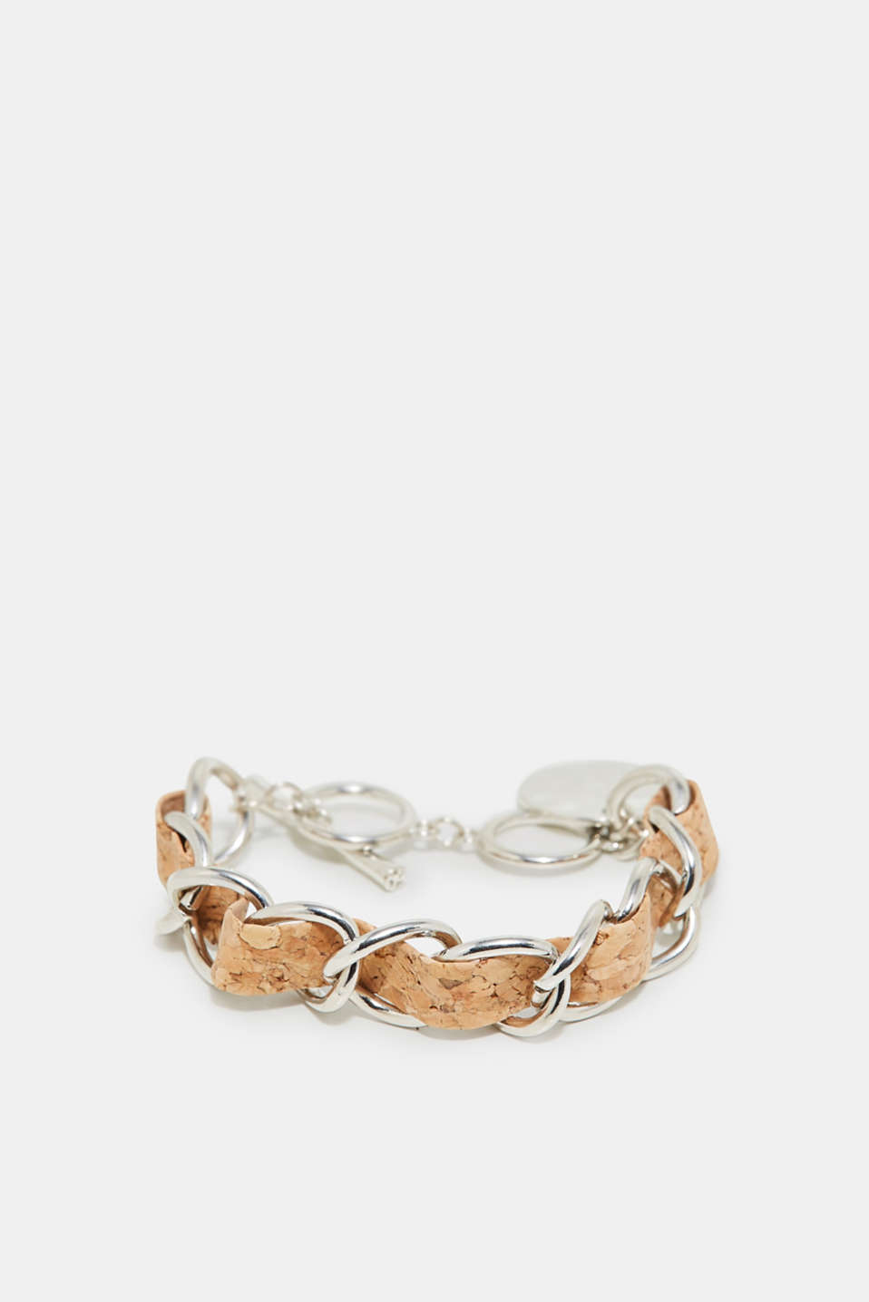 Esprit - Link bracelet with cork