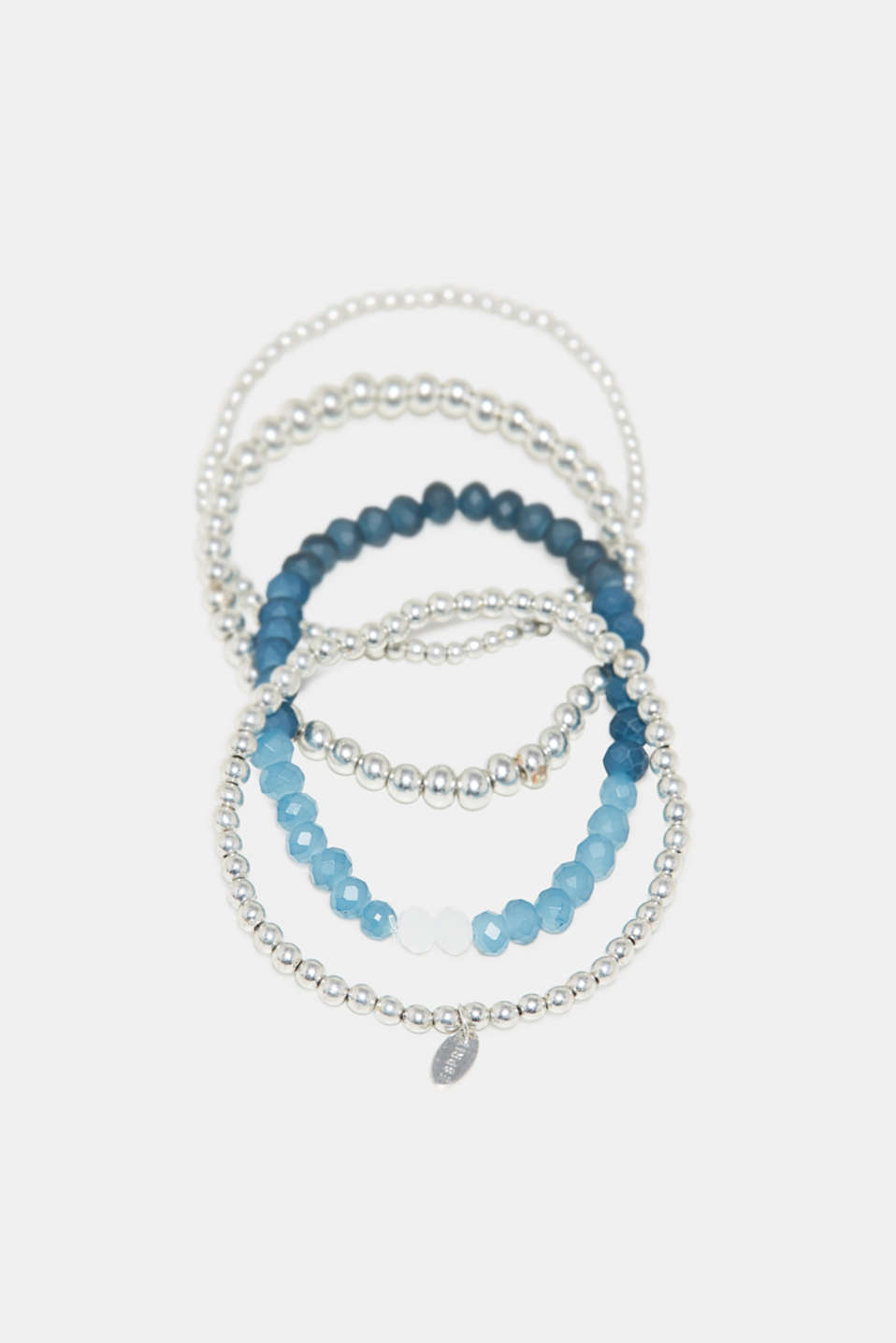 Esprit - Set: Metal bracelet with glass stones