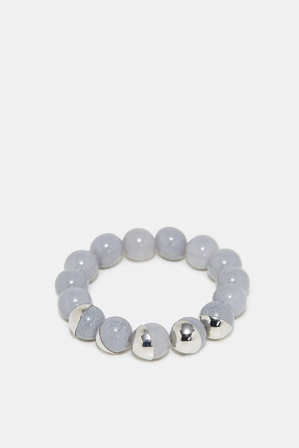 Bead bracelet, SILVER, detail image number 0