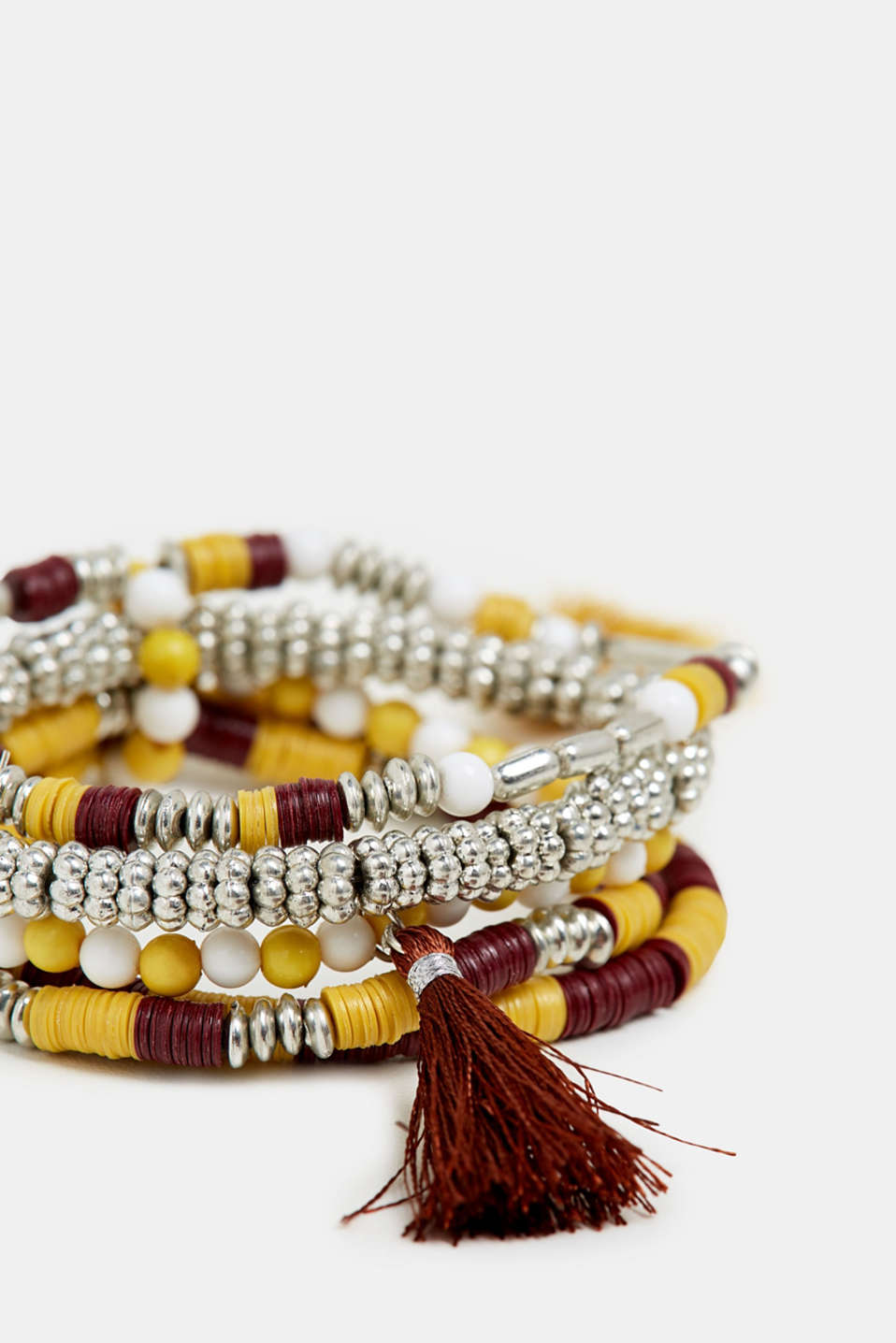 Set of bracelets, YELLOW, detail image number 1