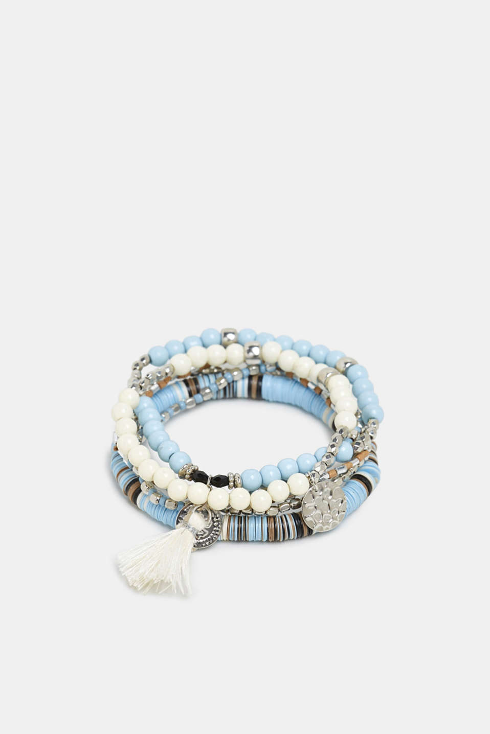 Esprit - Elasticated 6-piece bracelet