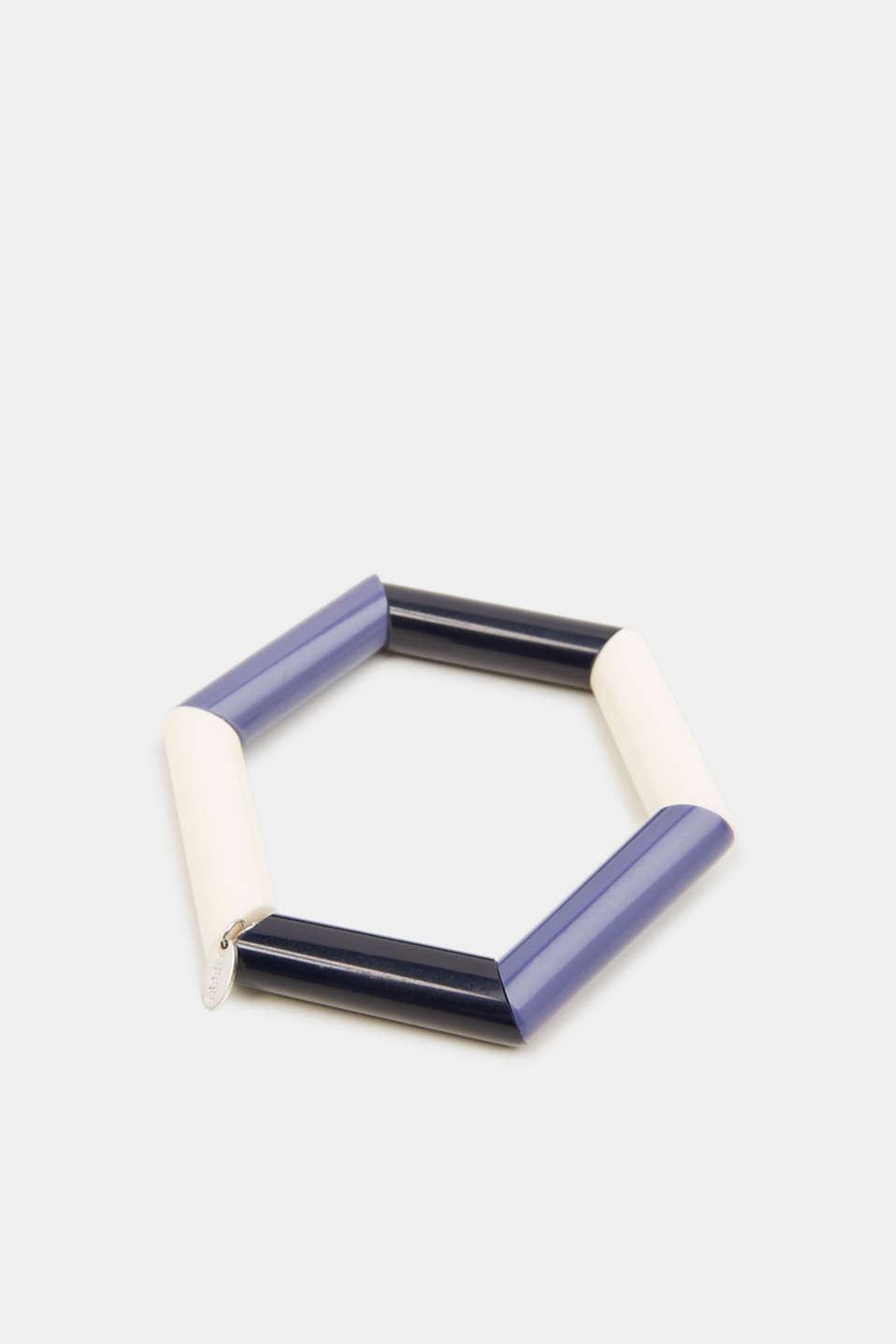 Stretchy bracelet with rod shapes, 1COLOR, detail image number 0