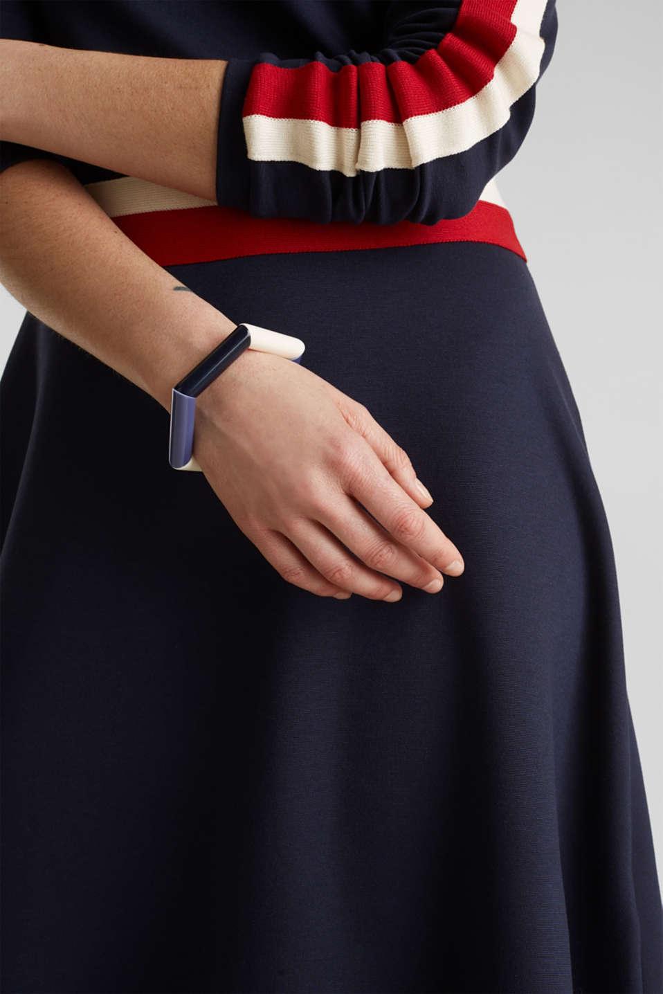 Stretchy bracelet with rod shapes, 1COLOR, detail image number 2