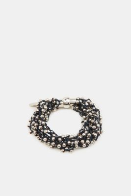 Bracelet with metal beads, 1COLOR, detail