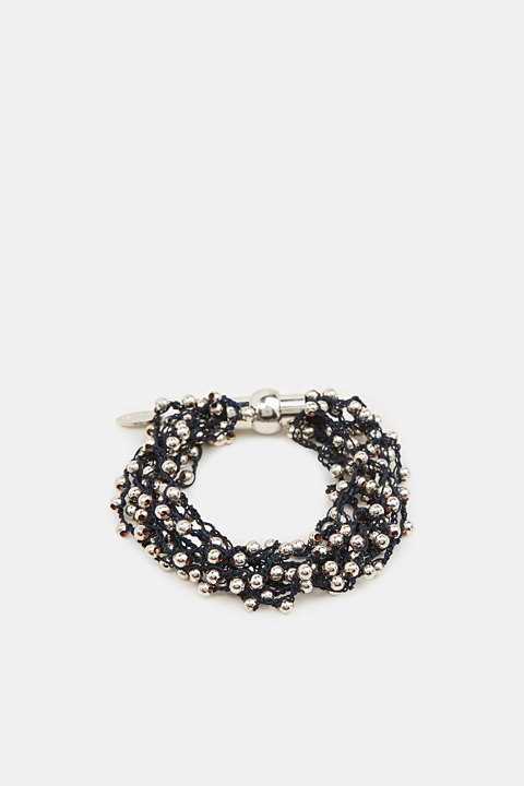 Bracelet with metal beads