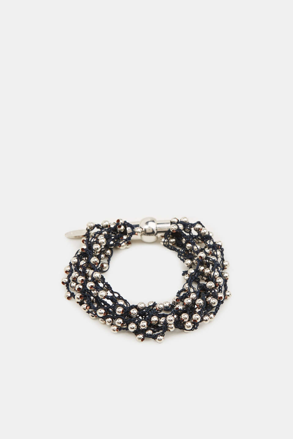 Bracelet with metal beads, 1COLOR, detail image number 0