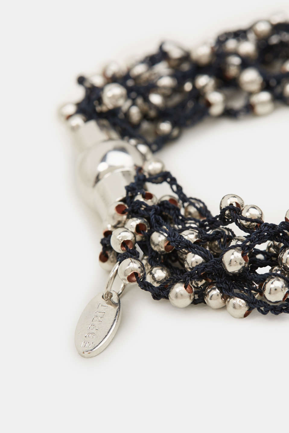 Bracelet with metal beads, 1COLOR, detail image number 1