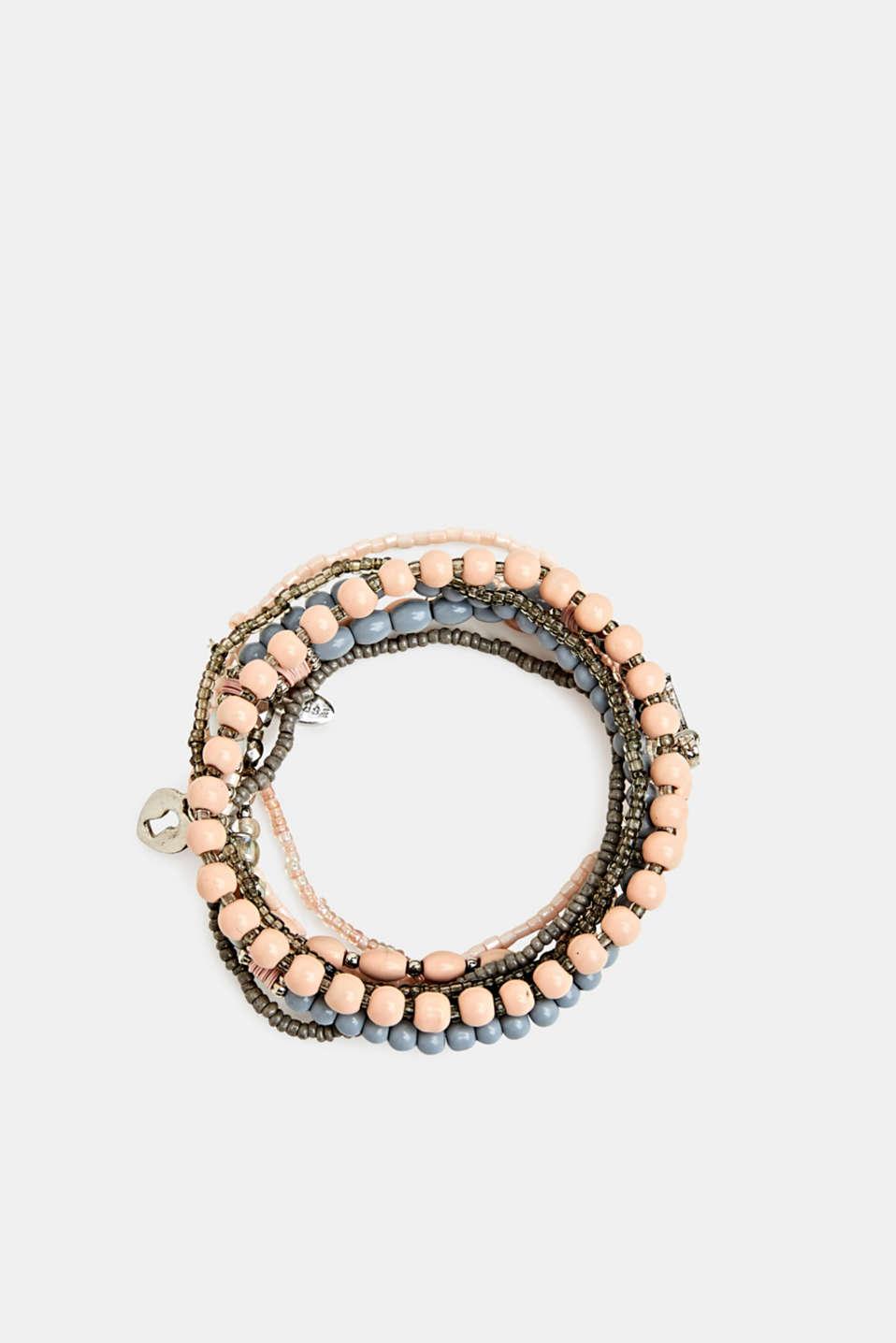 Set of stretchy bracelets, LC1COLOR, detail image number 0