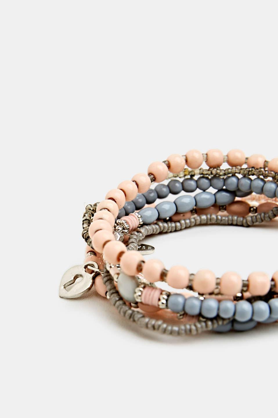 Set of stretchy bracelets, LC1COLOR, detail image number 1