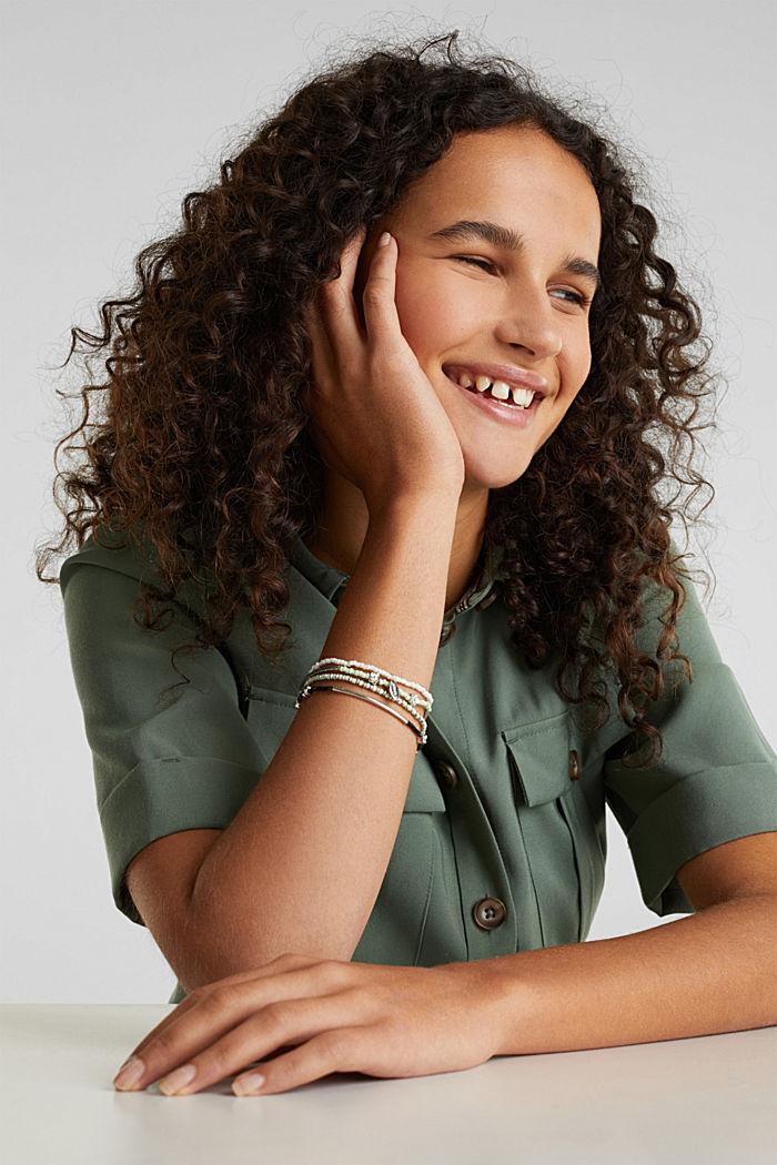 Set of bracelets, GREEN, detail image number 2