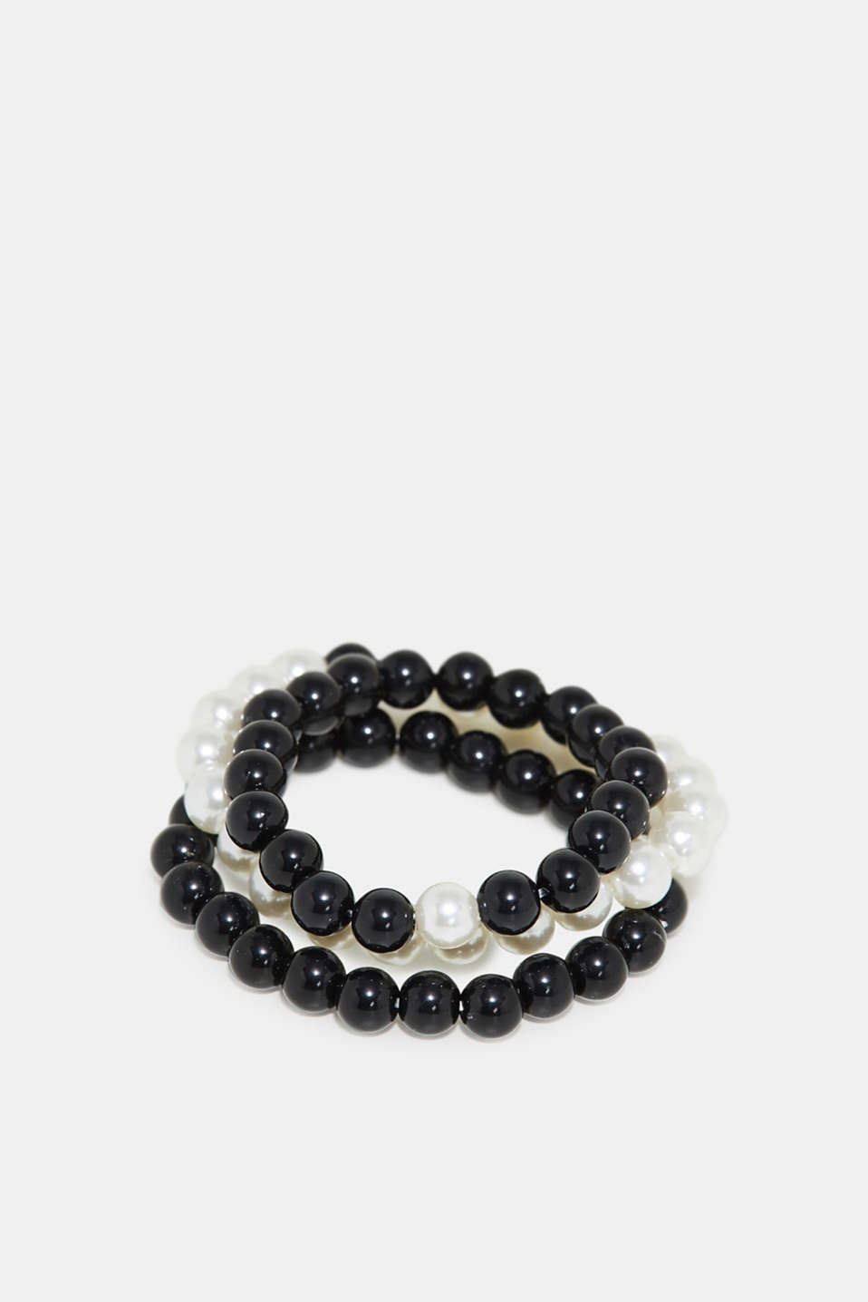 Esprit - Triple set of bead bracelets