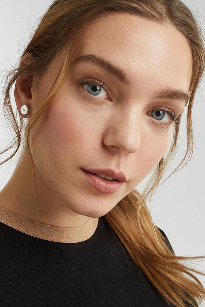 Stud earring set, 1COLOR, detail image number 2