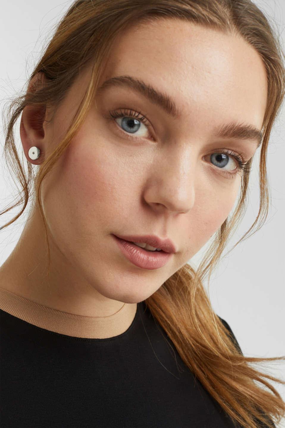 Stud earring set, LC1COLOR, detail image number 2