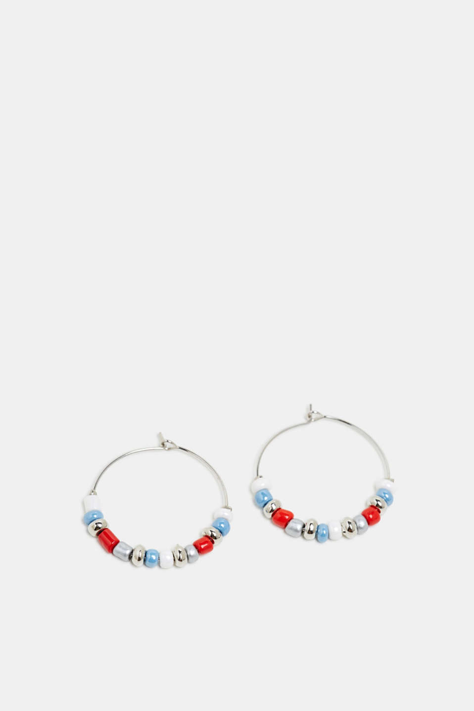 Esprit - Hoop earrings with beads