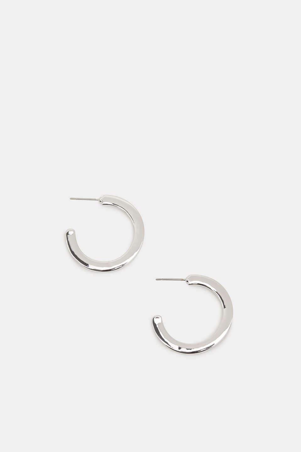 Esprit - Open creole earrings made of metal
