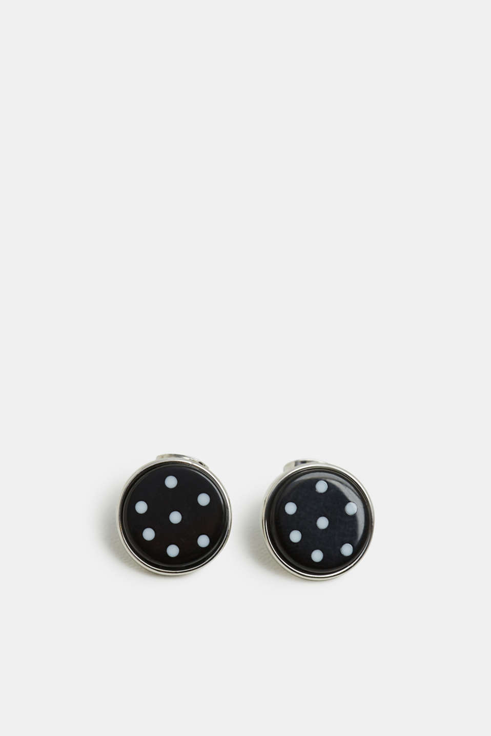 Esprit - Stud earrings with polka dots