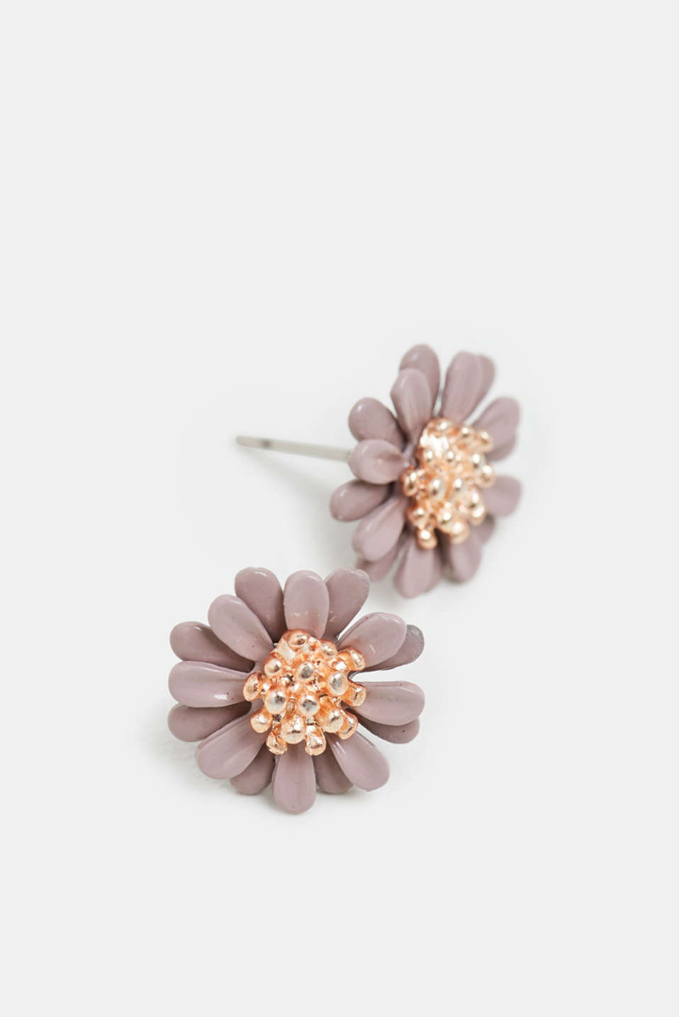 Esprit - Three-dimensional floral stud earrings