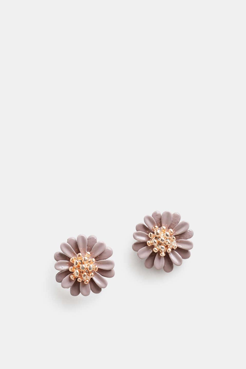 Earrings Costume Jewellery, ROSE, detail image number 1