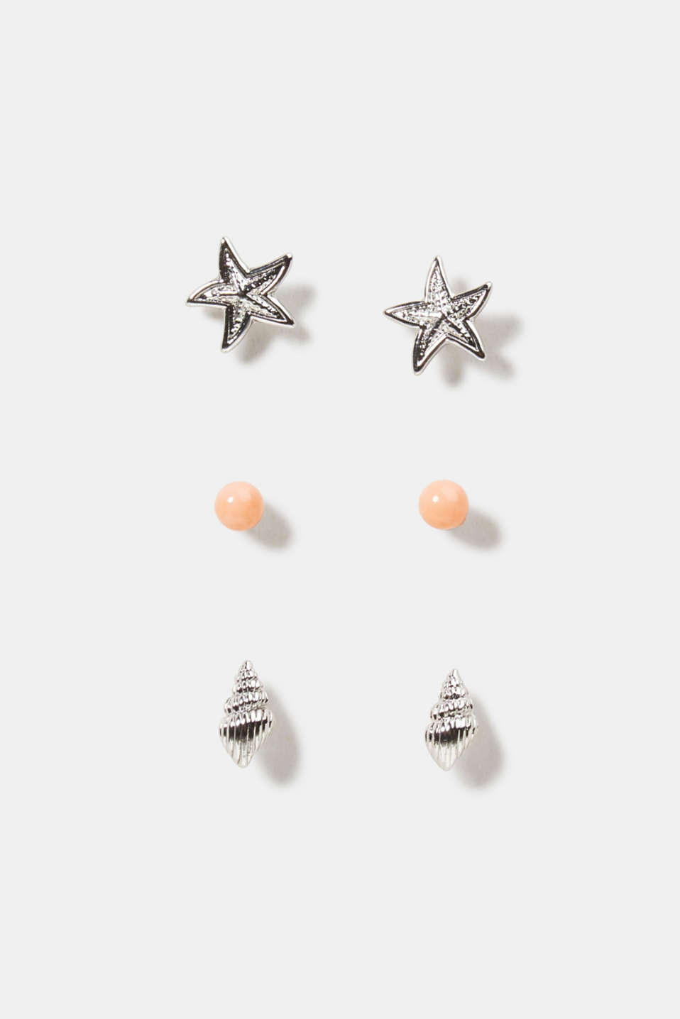 Esprit - Three pairs of stud earrings